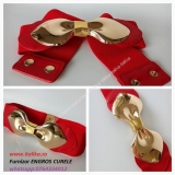 curele dama elastice GOLD BOW