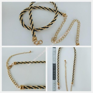 curele dama metalice GOLD CHAIN